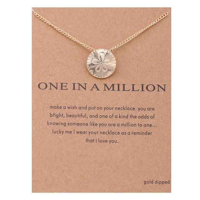 Make A Wish Necklace: One In A Million - Weartro