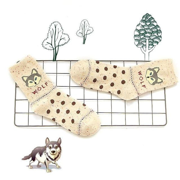 Forest Animal Socks - Weartro
