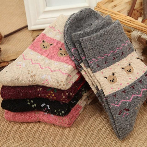 5 PACK: Cozy Winter Socks - Weartro