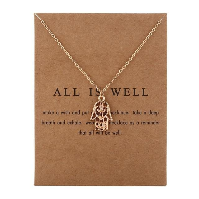 Make A Wish Necklace: All Is Well - Weartro