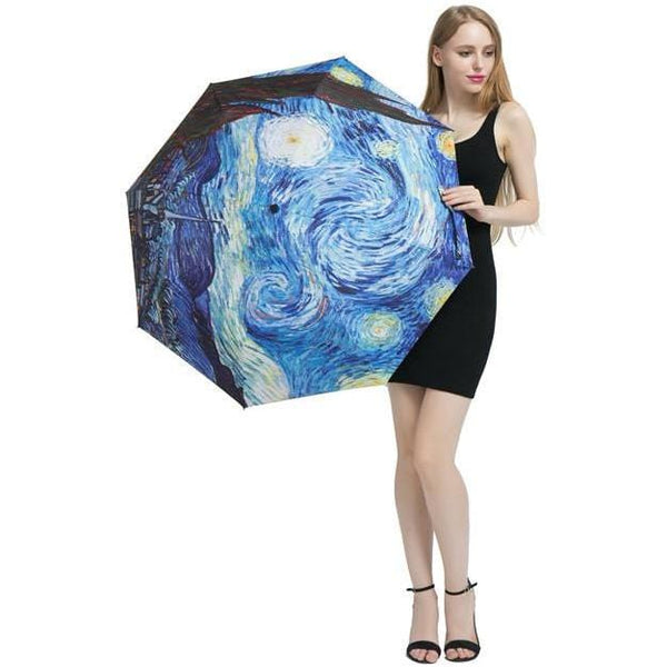 Van Gogh Umbrella - Weartro