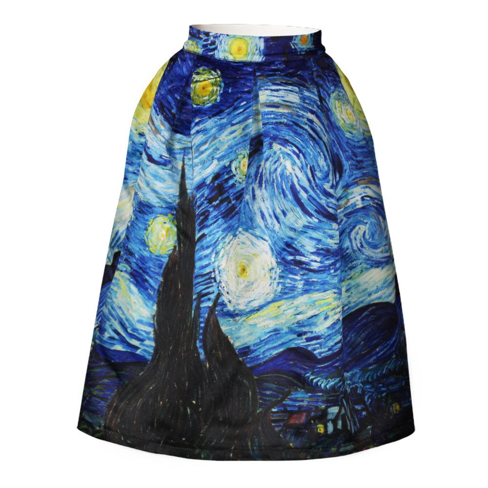 Starry Night Skirt - Weartro