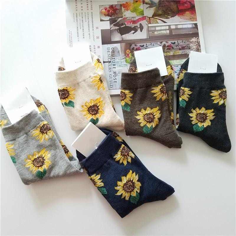 Sunflower Socks - Weartro