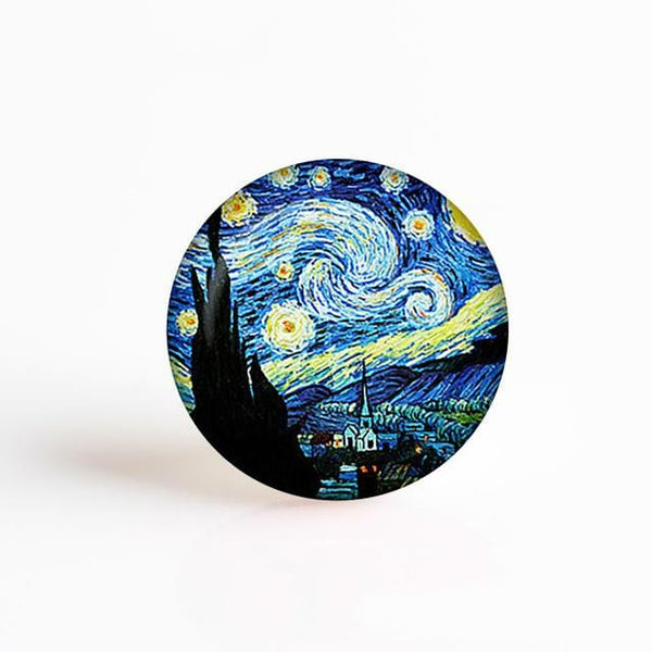 Van Gogh Glass Stone - Weartro