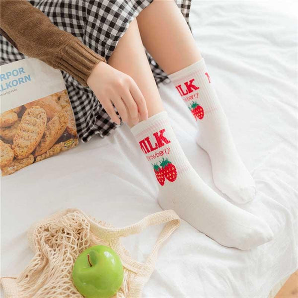Flavored Milk Socks