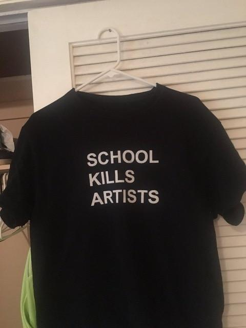 School Kills Artists Shirt