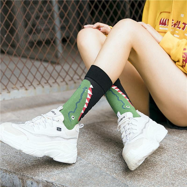 Crocodile Socks
