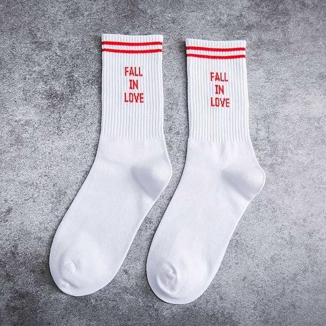 Fall In Love Socks