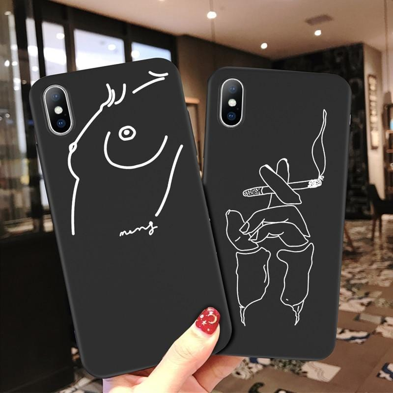 Line Art Phone Case