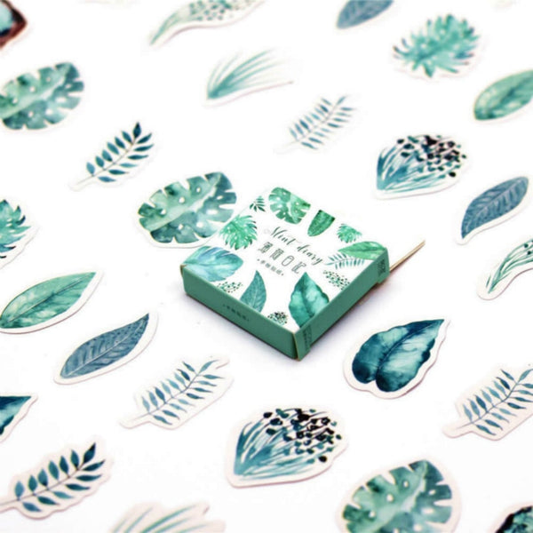Plant Stickers (45 pcs)