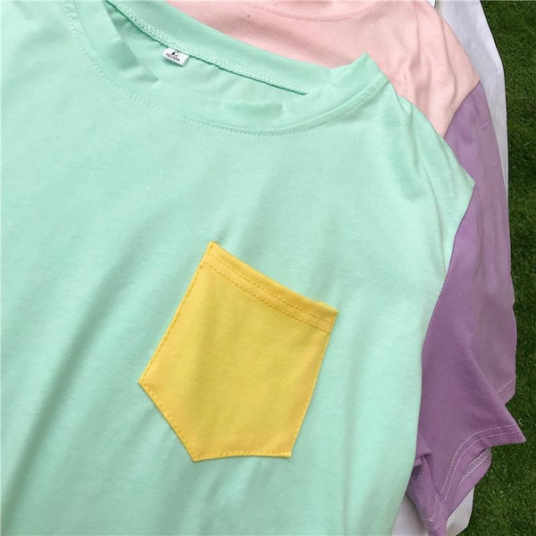 Pastel Pocket Shirt