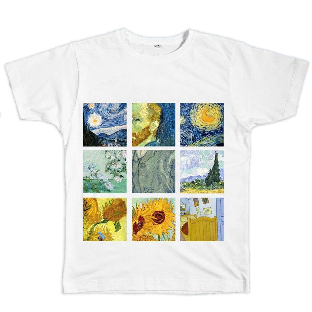 Van Gogh Grid Shirt