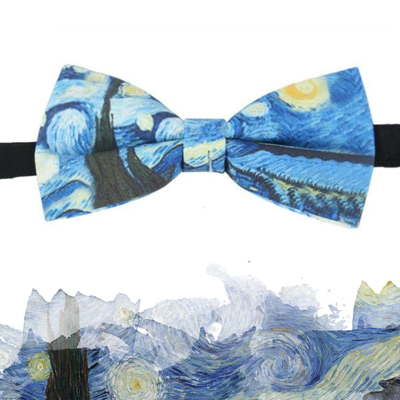 Starry Night Bow Tie - Weartro