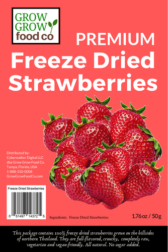 freeze dried strawberries sold at freezedriedheaven.com
