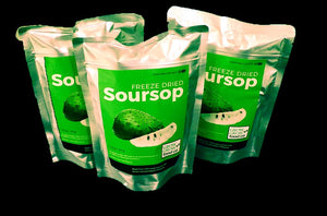 Freeze Dried Soursop - 1.75 oz / 50 g