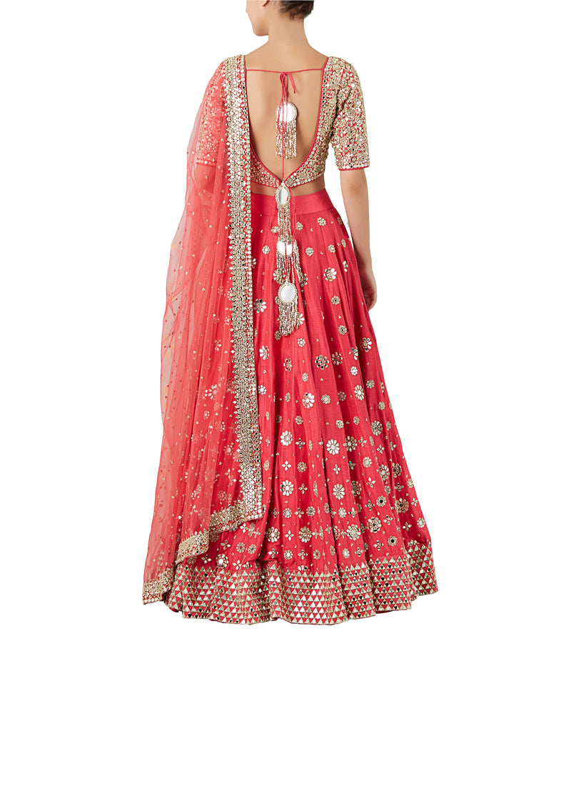 Hot Pink lehenga set
