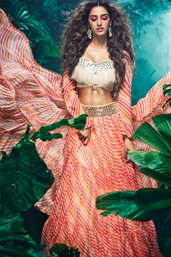 Printed Lehenga Set as seen on Disha Patani