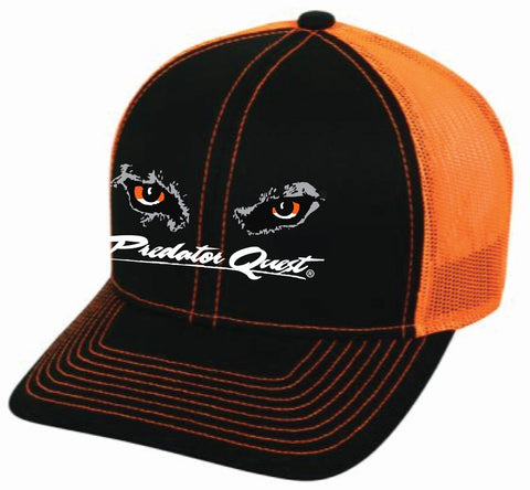 Outdoor Cap headwear with embroidered Predator Quest logo