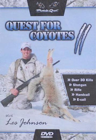 """Quest for Coyotes II"" DVD"