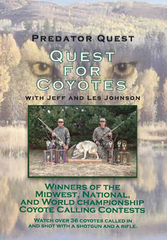 """Quest for Coyotes"" DVD"