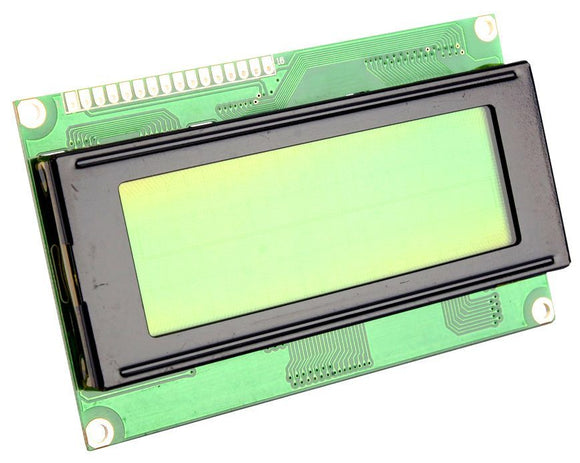 20x4 Character LCD Display Module 2004 LCD Yellow Green Blacklight