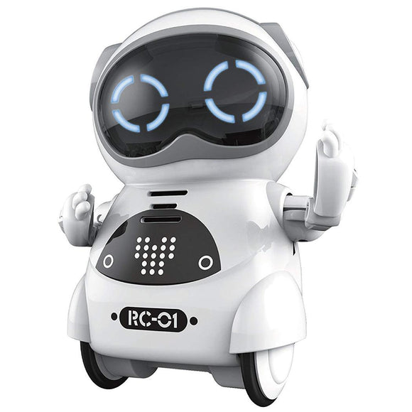 Mini Intelligent Pocket Robot Talking Singing Dancing Telling Story