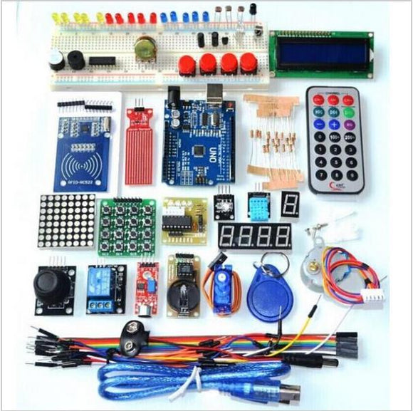 Arduino Uno Full Starter kit With All Sensors and Modules for beginners