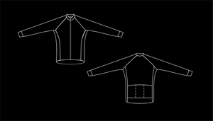 2.7 - Cycling - Long Sleeve Jersey