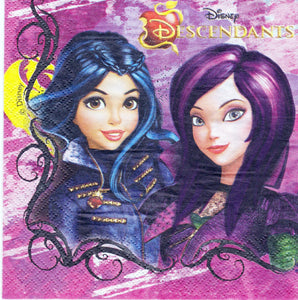Servetel Decorativ de Petrecere Party Disney Fetite Descendants Movie Disney Descendentii