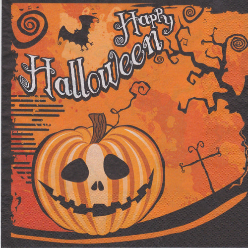 Servetel HWL-0032 Black Happy Halloween