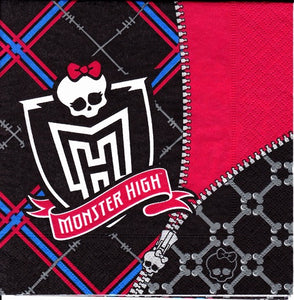 Servetel Decorativ de Petrecere Party Imprima Monster High Movie