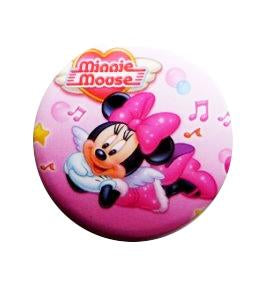 Brosa Insigna Martisor de Primavara din Metal Copii Disney Roza Minnie Mouse