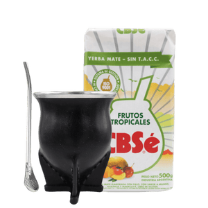 Yerba mate traditionel startpakke med CBSé tropical
