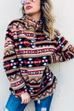 Dusty Aztec Nights Pullover