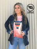 Serape Sunset tee
