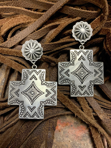 Atwood Aztec Earrings