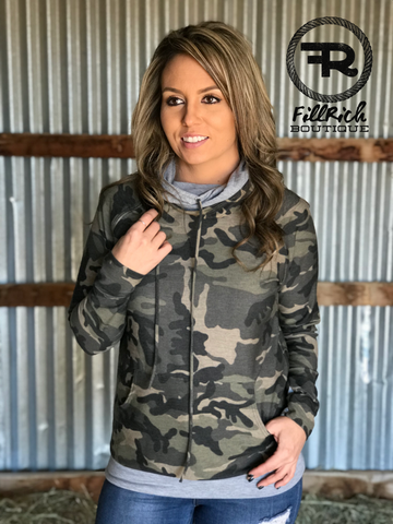 The Casual Camo Hoodie