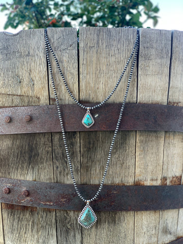 The Double Diamond Necklace