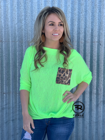 The Neon Night Top