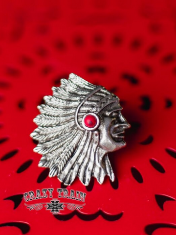 Feathered Indian Slide/Ring