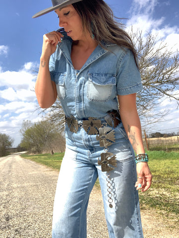 Birds Of A Feather Concho Belt