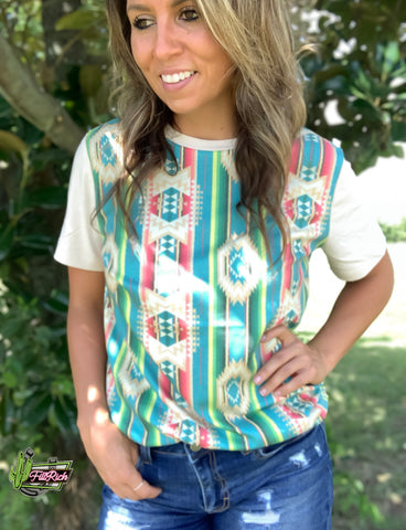 The Ada Aztec Top
