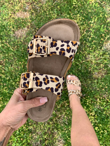 The Sawyer Sandal {Leopard}