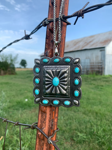 The Calamity Concho Necklace