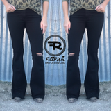 The Dolly Flares {Black}