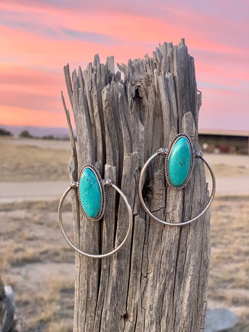 The Wynonna Concho Earrings