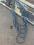 Silver Bullet Necklace {turqouise}