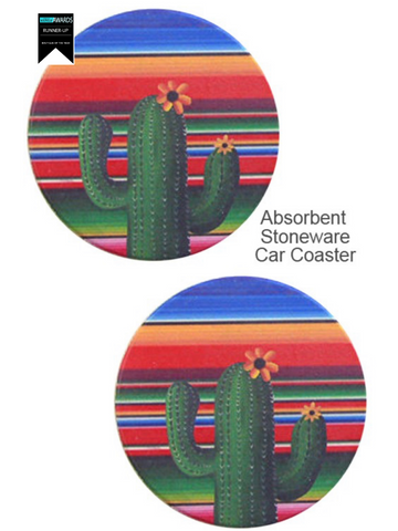 Cactus Jax Car Coasters