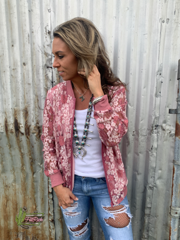 The Lenapah Lace jacket
