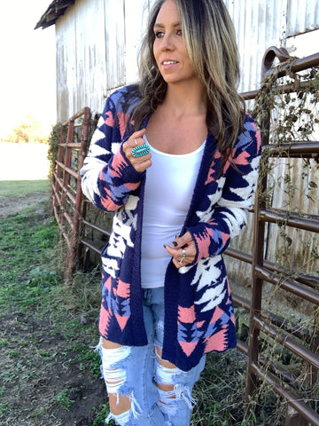 The Blue River Sweater Cardigan